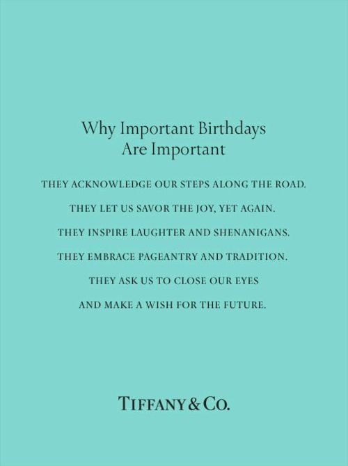 Why Birthdays are Important