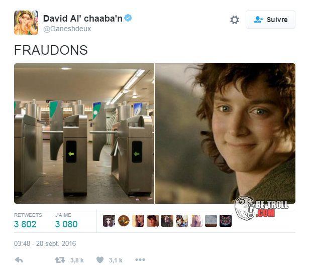 Frodons ! - Be-troll - vidéos humour, actualité insolite