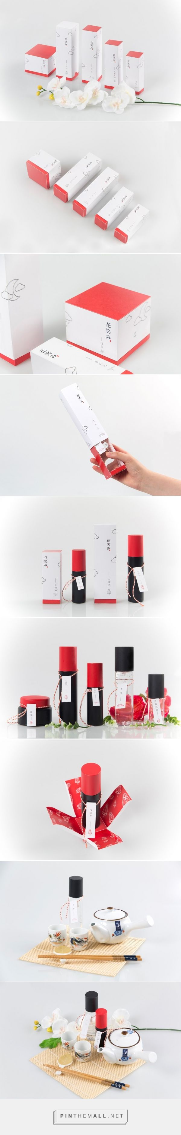 Hanaemi Cosmetics packaging design concept by Hyun Yun, HaeChan Jung, YeonHee Choi (Korea) - http://www.packagingoftheworld.com/2016/06/hanaemi-cosmetics-student-project.html 단상자 디자인