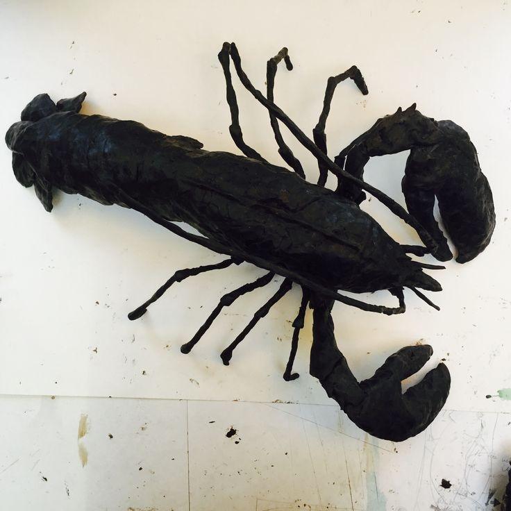 Lobster, kreeft, art, kunst