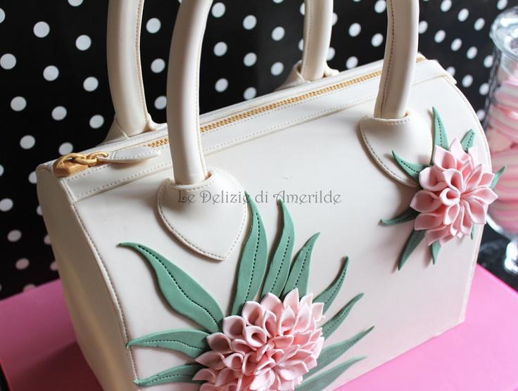 Le Delizie di Amerilde. Fashion cake. Bag cake. www.ledeliziediamerilde.it