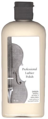 We highly recommend this German made Professional Luthier Polish for use on fine instruments that are older and/or highly valued. This polish is the original formula used for decades by the world's finest violin shops including the SHAR Repair & Restoration Shop. The reason that the Professional Luthier Polish is the choice of fine restoration shops is because of its effectiveness as a polish and cleaner while at the same time being mild enough not to cause damage to soft and/or delicate ...