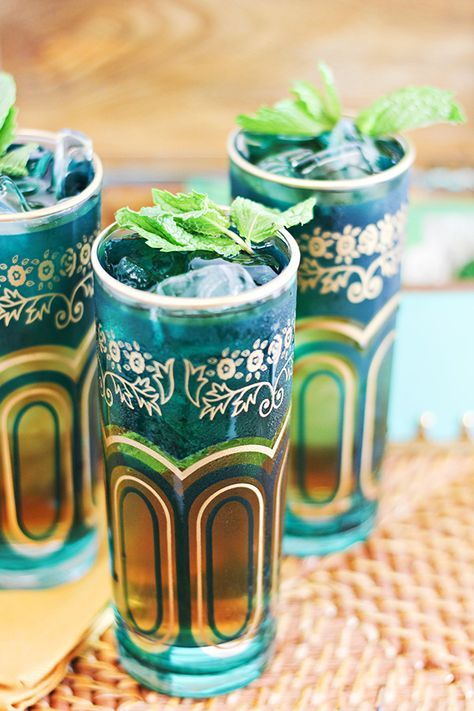 Moroccan Spiced Mint Tea Juleps Cocktail. Www Worldmarket ...