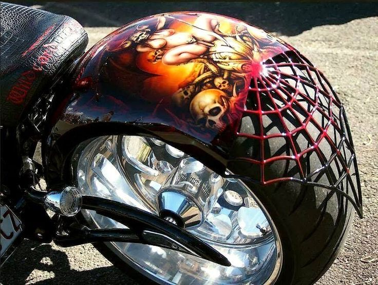 Airbrush Art For Motorcycles