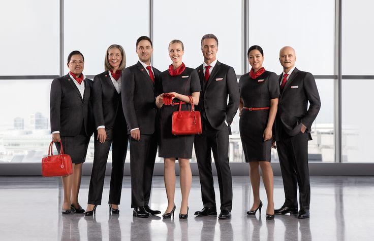 Air Canada : un nouvel uniforme pour les hôtesses et stewards