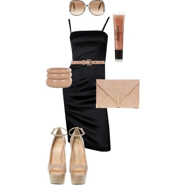 simple, created by debtastic on Polyvore