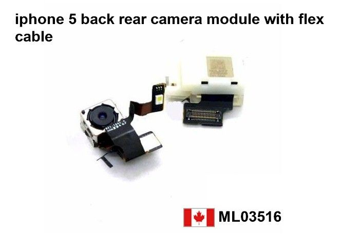 New Apple iPhone 5 8MP Back Rear Camera Replacement Parts Price= $25.50