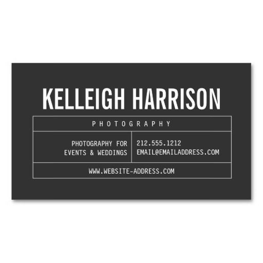 265 best images about Business Cards for Networking, Personal Use ...