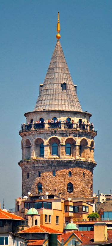Galata Tower was the highest landmark in Istanbul city for many years