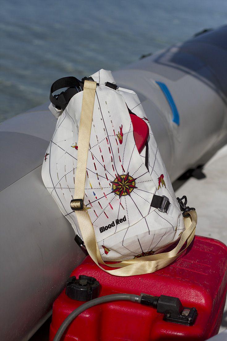 Lightning Cylinder Dry Bag 15L #bloodredclothing #bloodreddrybag