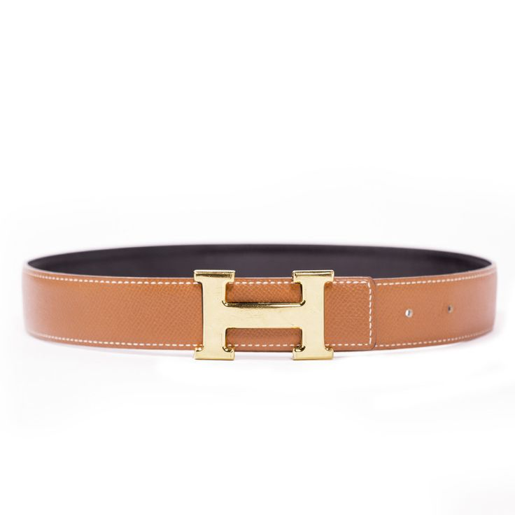 We Guarantee The Authenticity Of This Belt Or Your Full Money Back. The Belt Has Been Authenticate By Our Experts. Description: Authentic Hermes Reversible H Belt (2 Belts) Details: Grey And Blue / Ta