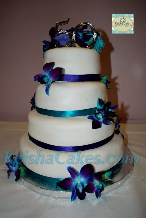 purple and teal wedding cake 108 best images about keisha cakes on black 18877