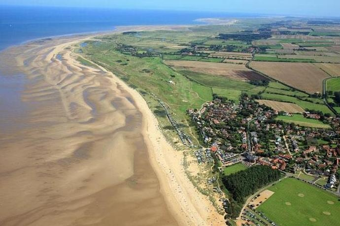 So exited to come home to this! - Old Hunstanton Beach, Norfolk