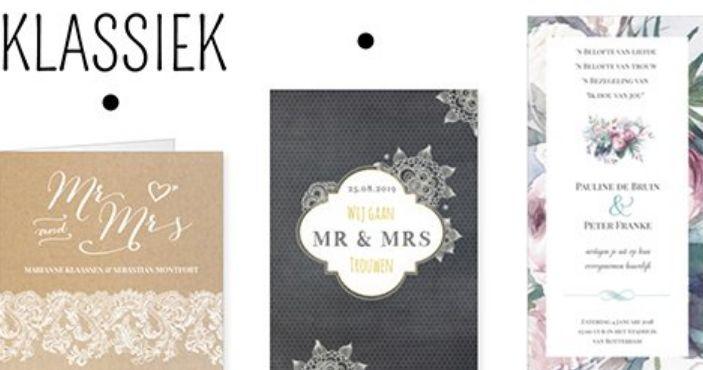 Trouwkaarten maken: zelf online jullie trouwkaart ontwerpen