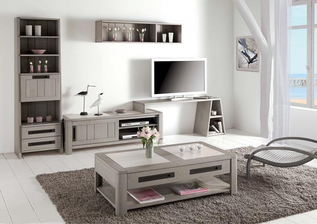 Acheter Votre Table Basse Chene Massif Et Ceramique 1 Tiroir Chez Simeuble En 2020 Mobilier De Salon Meuble Table Basse Chene Massif