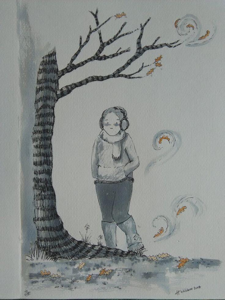 Day 1: 'Swift' Marie-Jeanne Jacob (@mjpoj)   Twitter inktober #inktober2017 #comics #illustration #art #octoberwalks #recovery