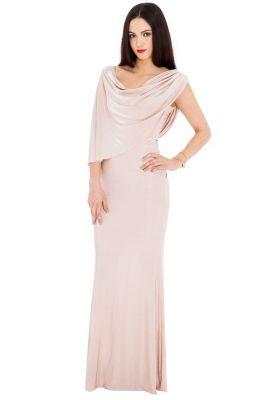 Spoločenské šaty Grecian v štýle Kim Kardashian