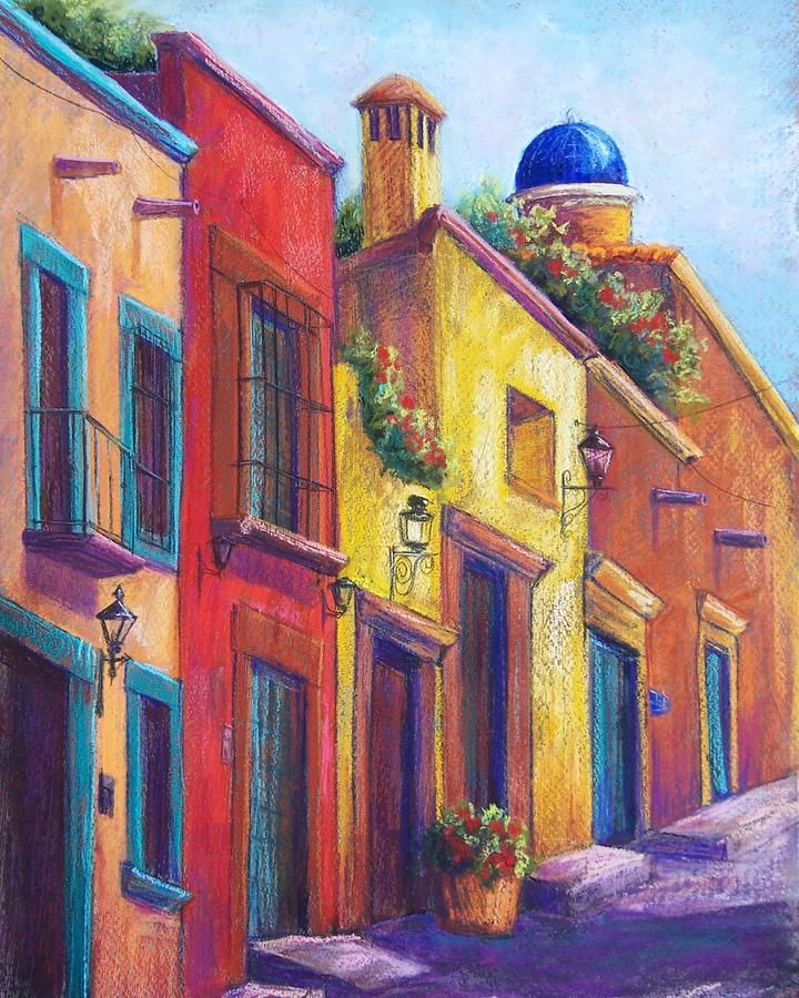 Colorful San Miguel Pastel - Candy Mayer