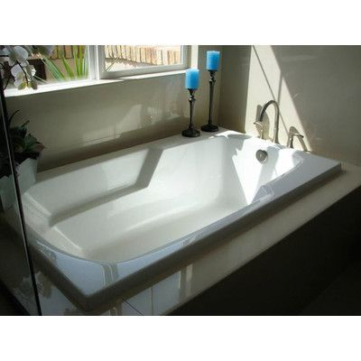 """Hydro Systems Designer Solo 60"""" x 32"""" Whirlpool Bathtub Finish: Biscuit"""