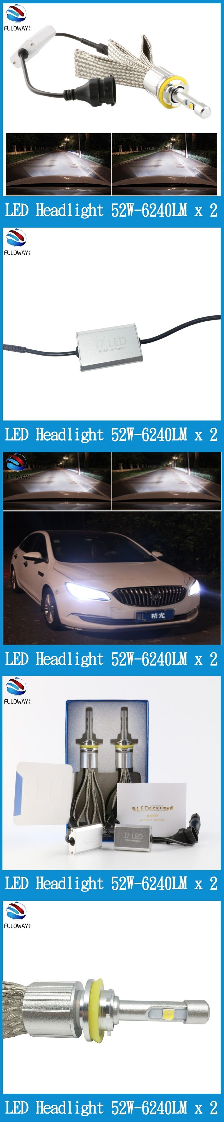 96 best car lights images on pinterest autos blue and blue colors fuloway super bright car led headlights h11h9h8h7h4 nvjuhfo Gallery