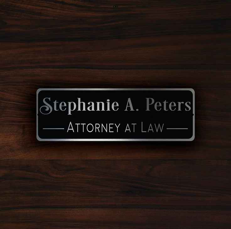 1000 Ideas About Name Plates On Pinterest Door Name