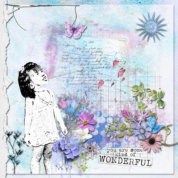 layout using A Beautiful Soul by G&T Designs that is available  E-scape and Scrap