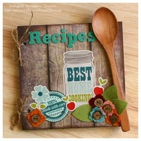 Recipes: A Project by HappyLifeCraftyWife from our Scrapbooking Altered Projects Galleries originally submitted 08/23/12 at 12:50 PM