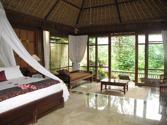 Pita Maha Ubud Bali Our Room May 2002 Hotel Di