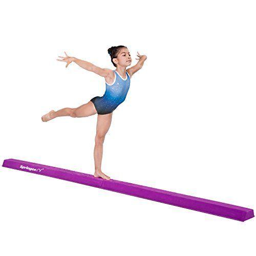Z Athletic Gymnastics Folding Training Low Beam 8 Feet