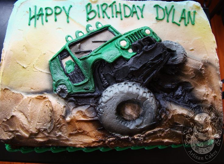 Jeep Birthday Cake Images : 25+ best ideas about Jeep Cake on Pinterest 3d cake ...