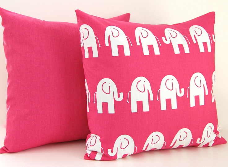 elephant  pillows for baby room