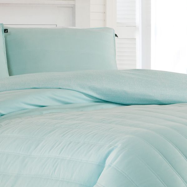 Nautica Mainsail Blue Aqua Comforter Set
