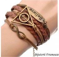 Bracelet believe Harry Potter http://www.bijuteriifrumoase.ro/cumpara/bracelet-believe-harry-potter-968