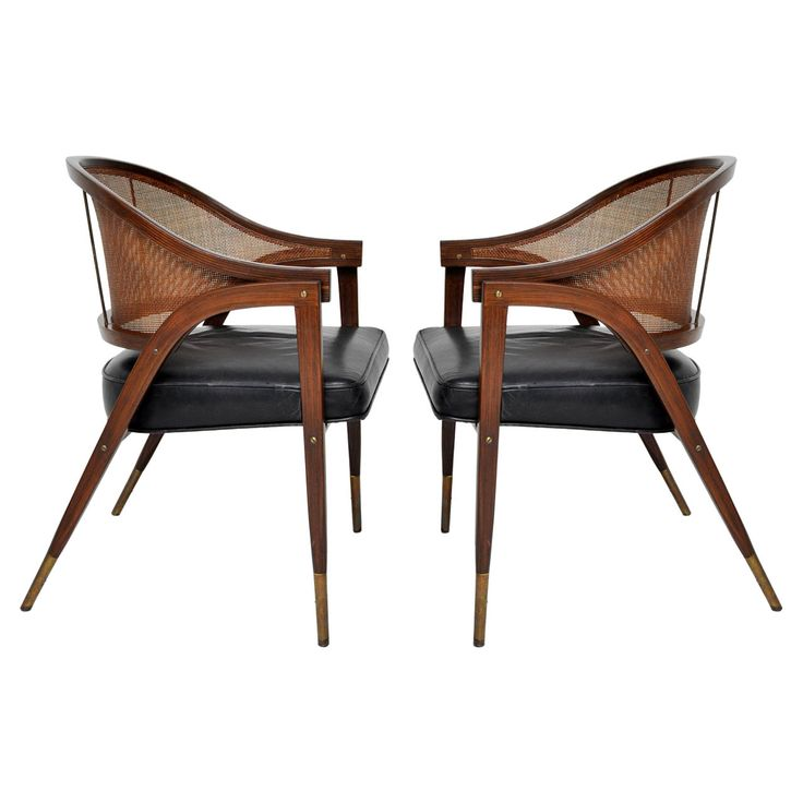 Dunbar Armchairs - Edward Wormley | From a unique collection of antique and modern armchairs at http://www.1stdibs.com/furniture/seating/armchairs/