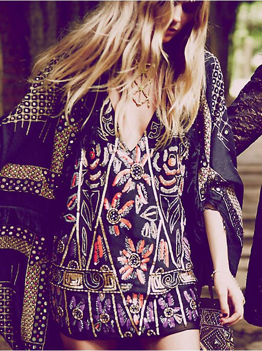 Free People Love and Embellished Shift Dress, $168.00