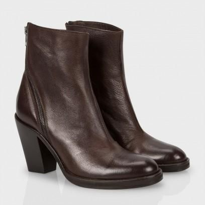 Paul Smith Women's Shoes | Brown Leather Glinn Boots