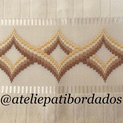 Patricia S. B. Paschoini (@ateliepatibordados) | Instagram photos and videos