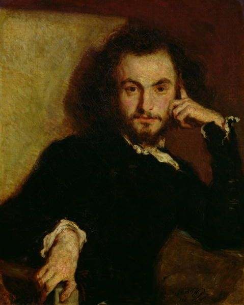 Charles Baudelaire portrait