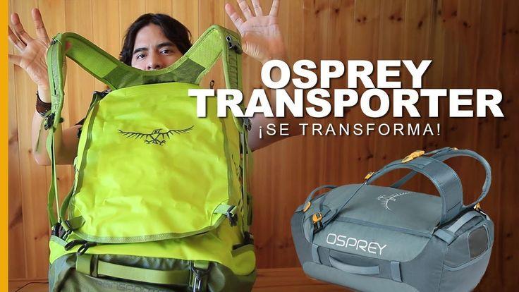 El mejor #equipaje del mundo. Mira este review de la nueva Osprey Transporter  #bags #bolso #viajes #vuelos #turismo #mochileros