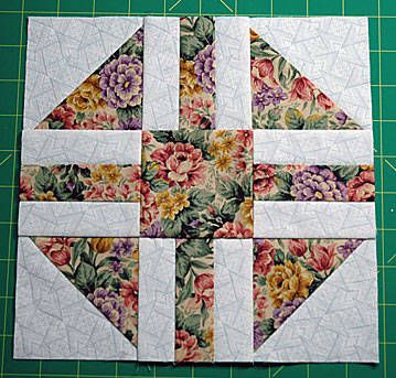 "Paths & Stiles Quilt Block Pattern - 9"" Blocks"