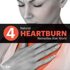 Heartburn remedies - Dr. Axe