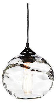 "Keep • ""Hennepin Made Globe Pendant - Pendants - Lighting - Room & Board"" kept into Just Plain Ole Decor by retromodern"