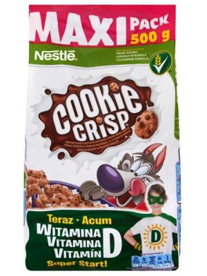 Nestle NESTLE 500g Cookie Crisp Płatki śniadaniowe