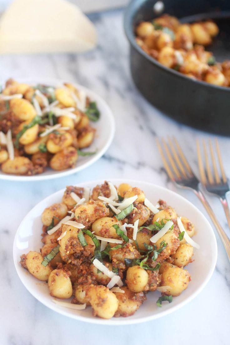 Crispy Gnocchi with Pistachio Pesto-1
