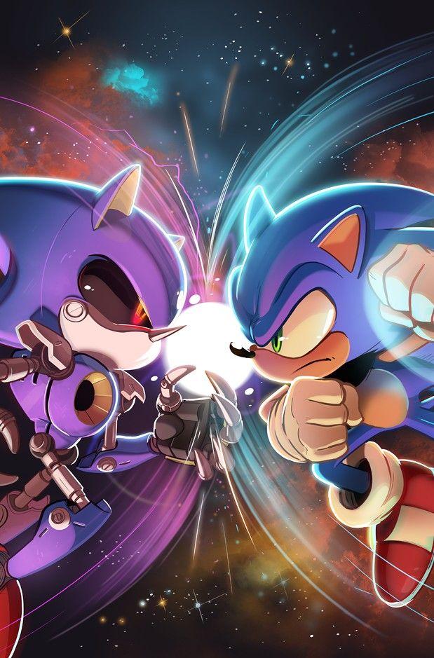 Metal Sonic vs Sonic el Erizo