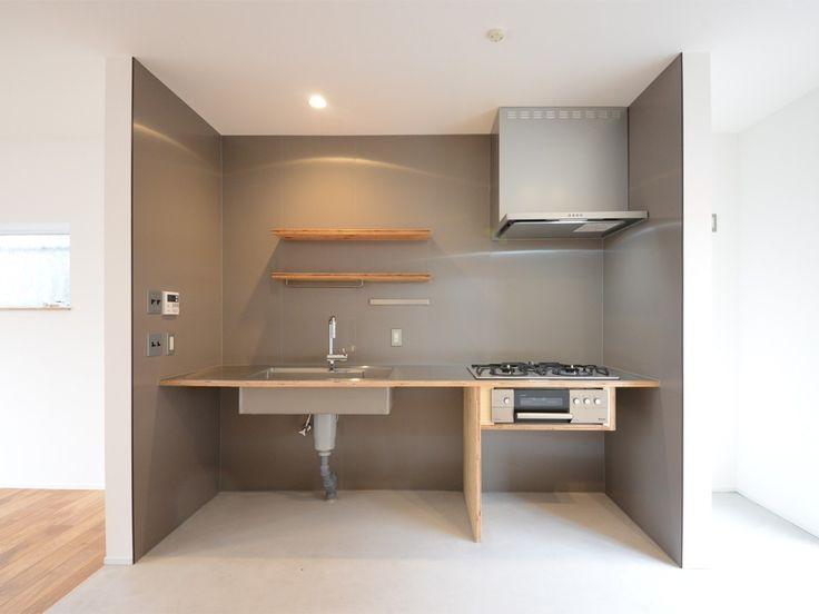 かっちんさんのキッチンのシステムキッチン『ミニマムキッチン』(7054-1)