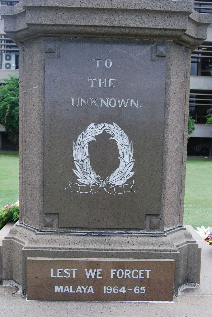 Inscription, Great War Memorial, Memorial Park, Grafton NSW.