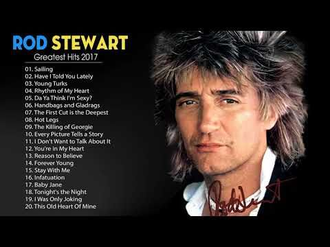Rod Stewart Full Album  -The Very Best of Rod Stewart Collection - YouTube