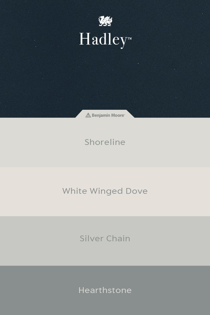 We have teamed up with @Benjamin_Moore to help simplify the design process. Pair our newest Desert Collection™ design, Hadley, with Shoreline, White Winged Dove, Silver Chain, or Hearthstone. View more pairings by clicking through to our paint match tool. #MyCambria