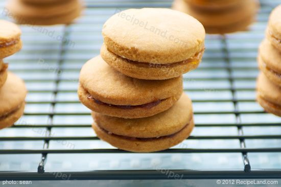Jam Jam Cookies: Jam filled cookies, traditionally from Eastern Canada but popular around the world. Some know this as a Christmas cookie but it's good any time of year.
